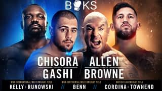 Boks: Allen Vs. Browne