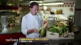 Top Chef : Homard et maïs selon Romain Meder