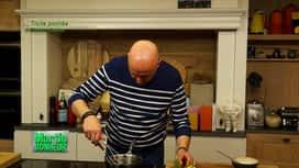 Martin Bonheur : Truite pochée à l'huile d'olive