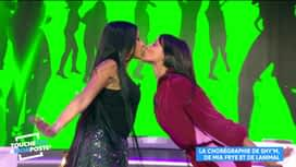 Touche pas à mon poste : Shy'm et Mia Frye s'embrassent !