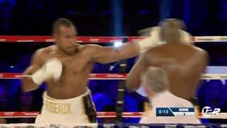 Boxe : Hervé Hubeaux VS Jack Mulowayi