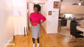 Les Reines du Shopping : Stylée avec un pantalon à motifs : journée 4