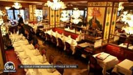 66 Minutes : Au cœur d'une brasserie mythique de Paris