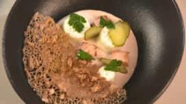 Top Chef : Le jambon beurre cornichon de Camille Delcroix