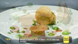 Top Chef : Finale: dégustation de l'entrée de Guillaume