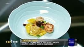 Top Chef : Finale: dégustation de l'entrée de Samuel