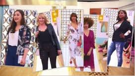 Les reines du shopping : Élégante avec un décolleté