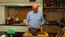 Martin Bonheur : Mini poivrons rôtis aux crevettes grises