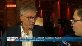 Les premiers résultats : Benoit Dispa - CDH