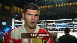 Boks: Hrgović vs. Corbin : Intervju nakon pobjede nad Corbinom