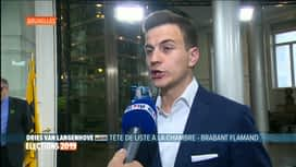 Les premiers résultats : Dries Van Langenhove - VLAAMS BELANG