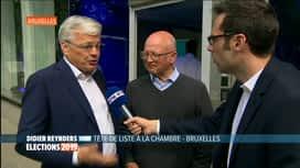 Les premiers résultats : Didier Reynders - MR