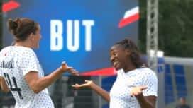 Football - Équipe de France féminine : France - Thaïlande (78') : but de Kadidiatou Diani