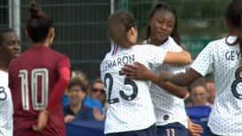 Football - Équipe de France féminine : France - Thaïlande (86') : but de Kadidiatou Diani