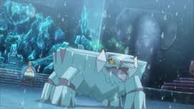 Pokemon : S19E27 Une zone de combat glaciaire !