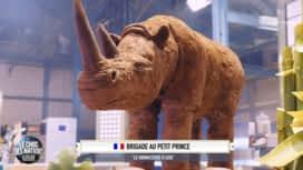 Le meilleur pâtissier - Les Professionnels : L'incroyable rhinocéros en chocolat !