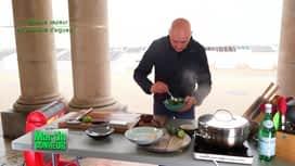 Martin Bonheur : Barbue vapeur en papillote d'algues