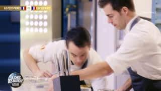 Le meilleur pâtissier, les professionnels : Demi-finales : France/France - France/Argentine