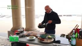 Martin Bonheur : Saint-Jacques à la rhubarbe