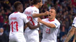 Portugal - Suisse (57') : but de Ricardo Rodriguez
