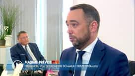 C'est pas tous les jours dimanche : Maxime Prévot est l'invité de Pascal Vrébos
