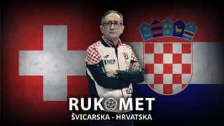 Rukomet: Švicarska - Hrvatska