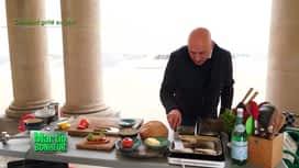 Martin Bonheur : Cabillaud grillé au pain