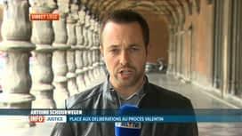 RTL INFO 13H : En direct du procès des bourreaux de Valentin à Liège
