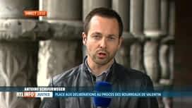RTL INFO 19H : En direct du procès des bourreaux de Valentin à Liège