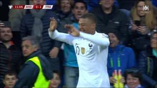 Mbappé ouvre le score ! (10') (0-1)