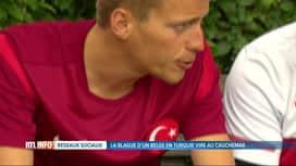 RTL INFO 19H : Le gag d'un Belge en voyage ne fait pas du tout rire les Turcs