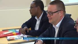 RTL INFO 13H : Les négociations entre le PS et le PTB n'ont pas abouti