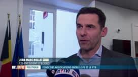 RTL INFO 19H : Les négociations se poursuivent pour former le gouvernement de la FWB