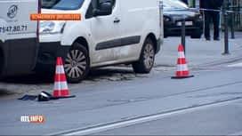 RTL INFO 13H : Une adolescente de 14 ans fauchée par une voiture à Schaerbeek