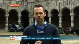 RTL INFO 13H : Fin de la délibération des jurés au procès des bourreaux de Valentin