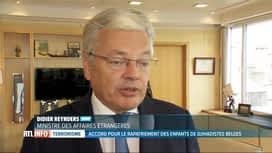 RTL INFO 13H : Les enfants belges de Daesh vivant en camp en Syrie bientôt rapatriés?