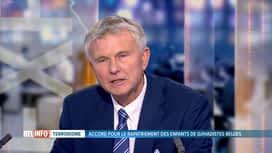 RTL INFO 13H : Analyse de Jean-Pierre Martin à propos des enfants belges de Daesh