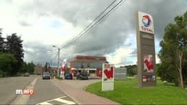 RTL INFO 19H : Braquage de la station Total de Spy, route de Saussin, ce matin