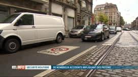 RTL INFO 19H : Pas moins d'accidents de piétons à Schaerbeek depuis les Zones 30 km/h