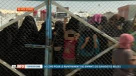 RTL INFO 19H : 6 enfants belges de Daesh rapatriés des camps de Syrie en Belgique