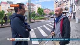 RTL INFO 13H : Adolescente fauchée à Schaerbeek: le conducteur est un récidiviste
