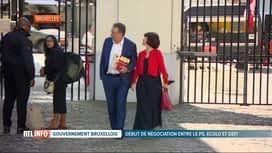 RTL INFO 13H : Consultation régionale: le PS tend la main à Ecolo et DéFI