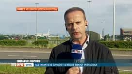 RTL INFO 19H : Arrivée des orphelins belges de familles de djihadistes