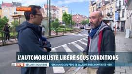 RTL INFO 19H : Adolescente fauchée à Schaerbeek: le conducteur est un récidiviste