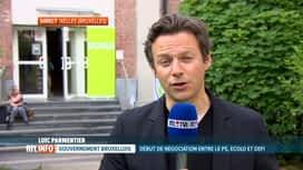 RTL INFO 19H : Consultation régionale: le PS tend la main à Ecolo et DéFI