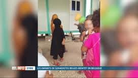 RTL INFO 19H : Les orphelins belges de familles de djihadistes arrivent aujourd'hui