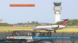 RTL INFO 13H : Arrivée en Belgique des 6 enfants de djihadistes belges de Syrie
