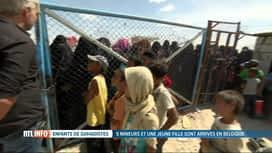 RTL INFO 19H : Il reste encore beaucoup de femmes et d'enfants de djihadistes en S...