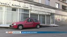 RTL INFO 13H : Des orages violents ont touché la France