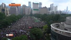 RTL INFO 13H : Manifestation à Hong Kong malgré le recul du gouvernement